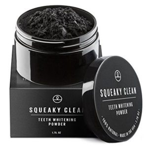 Squeaky Clean Activated Charcoal Teeth Whitening Tooth