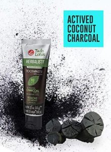 twin lotus active charcoal toothpaste