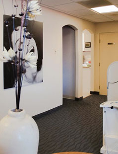 Serena Dental Office hallway