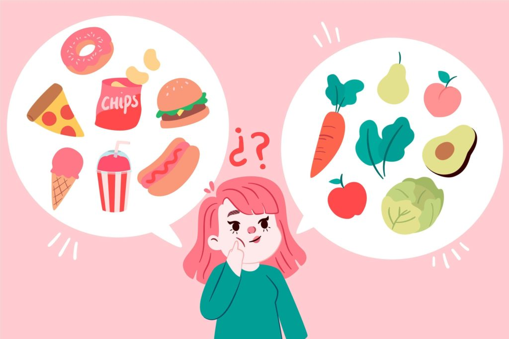 How the foods you eat affect how you feel